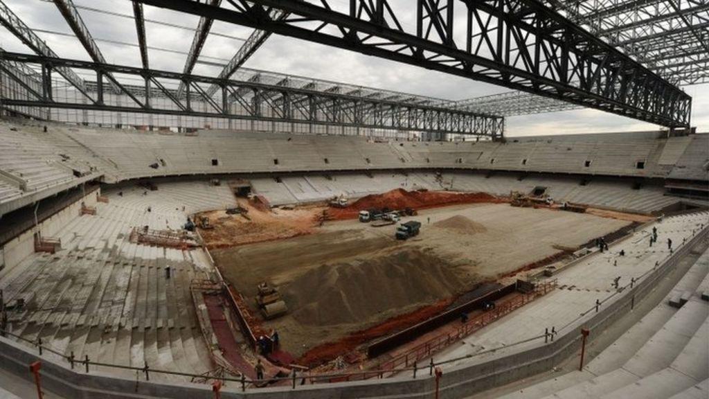 Fifa threat to Brazil's World Cup host city of Curitiba - BBC News