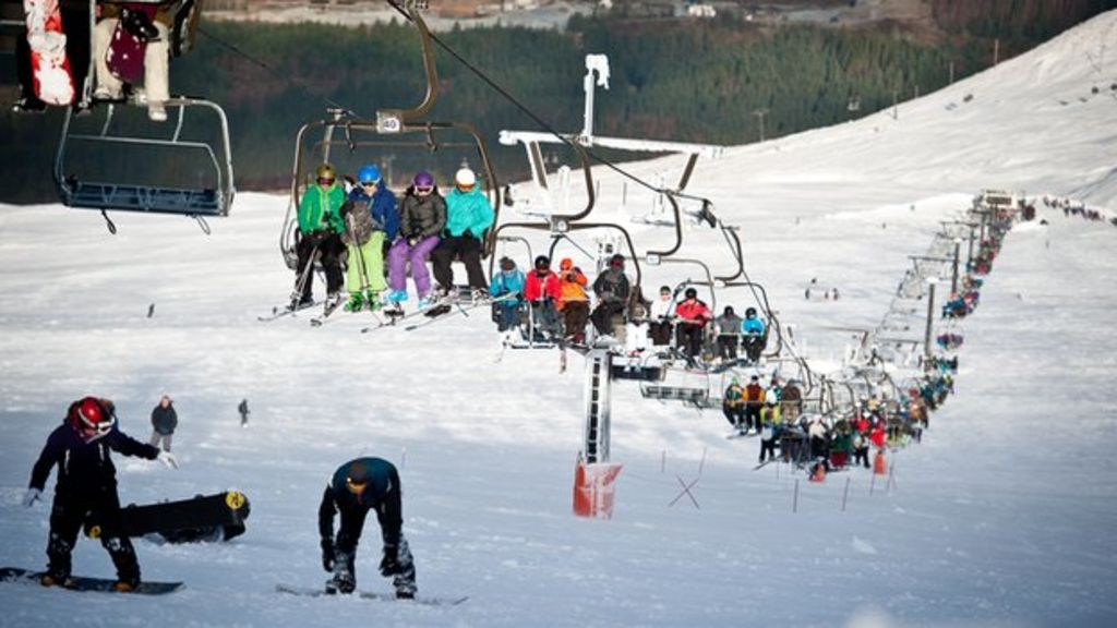 Nevis range has busiest day in 10 years - BBC News