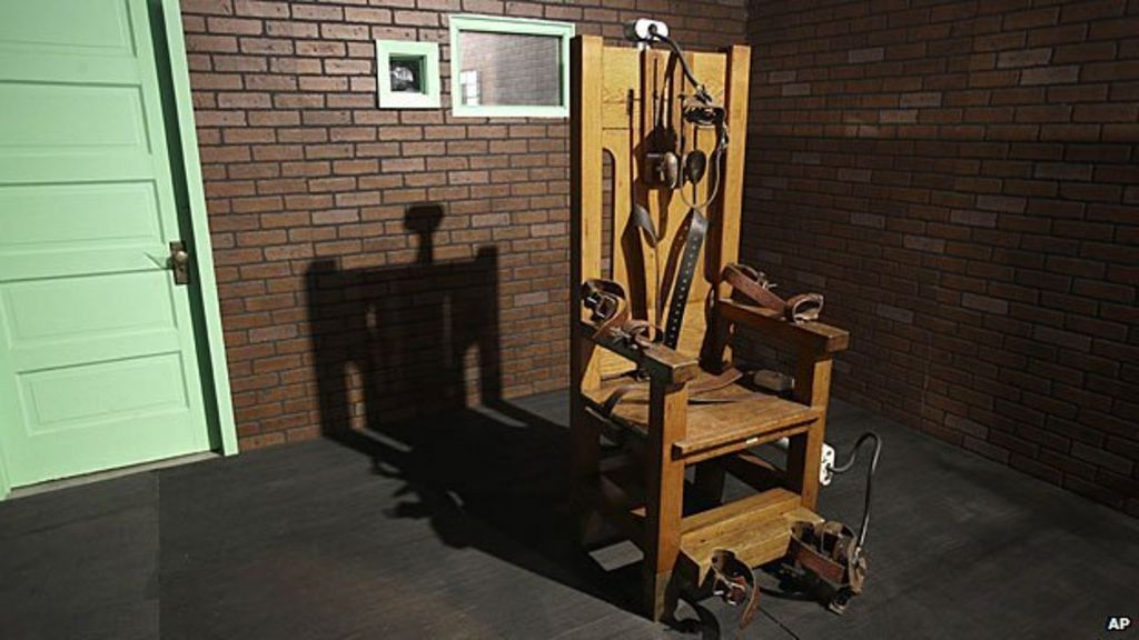 Electric chair haunts us former executions chief bbc news