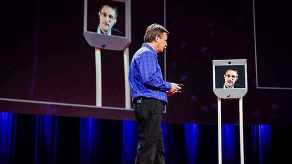 Ted 2014: Edward Snowden on privacy and NSA snooping - BBC ...