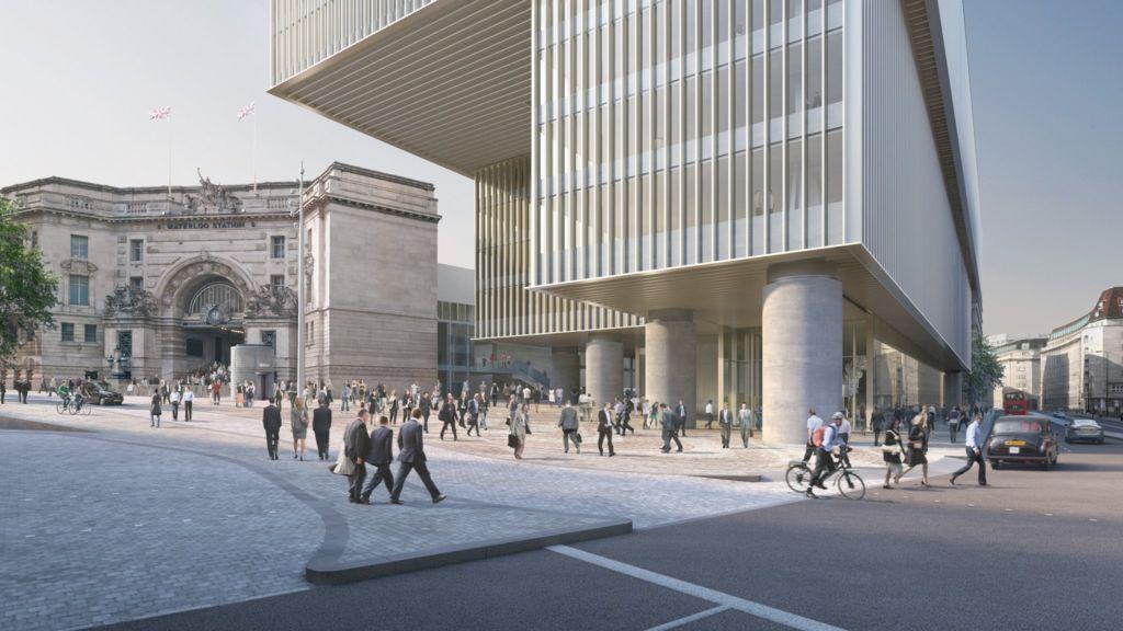 London Waterloo To Bbc Building