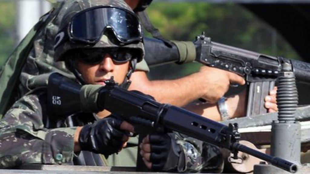 Brazil police strike ends in Bahia amid troop deployment - BBC News