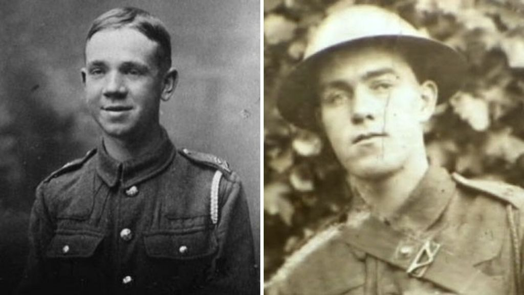 How can you find documents of a family member who was a POW in WW1?