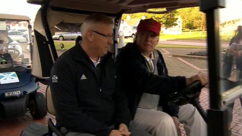 Trump plans to 'tweak' Turnberry golf course - BBC News