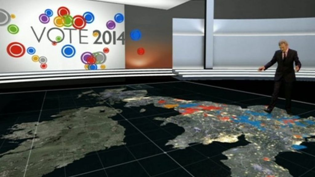 Local and European election numbers with Jeremy Vine - BBC News
