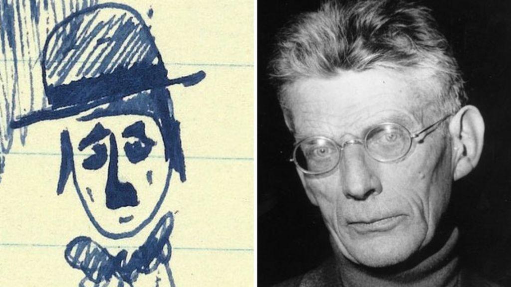 Samuel beckett manuscript and doodles go on display bbc news for Beckett tech support