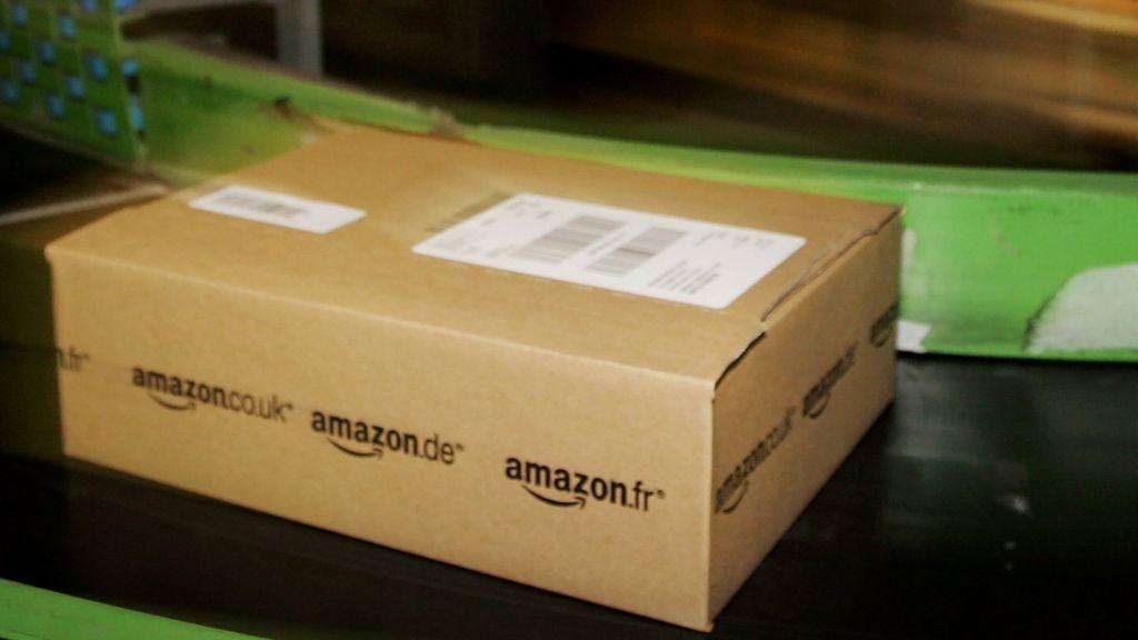 amazon  join railway station parcel pick  service bbc news