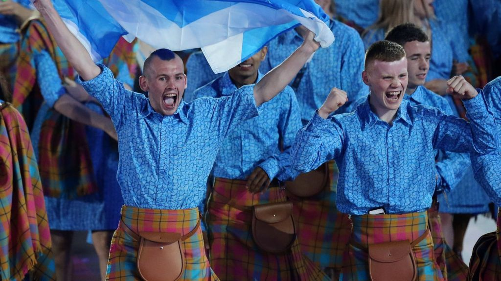 Glasgow 2014: Commonwealth Games begin at Celtic Park ...