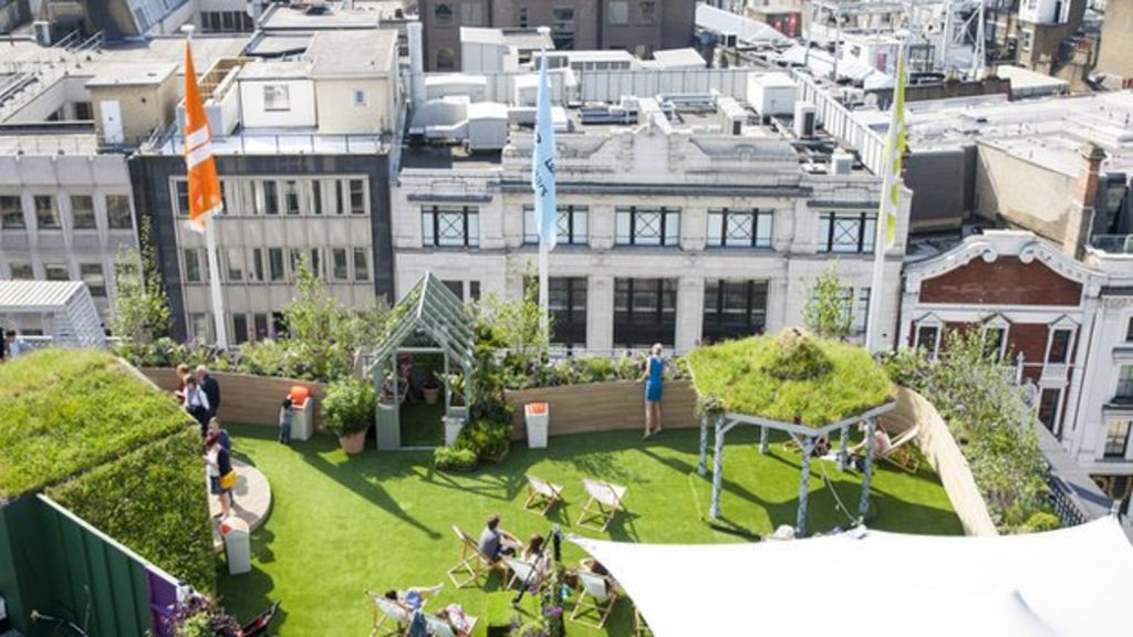 Up On The Roof Is London Moving Its Gardens To The Sky