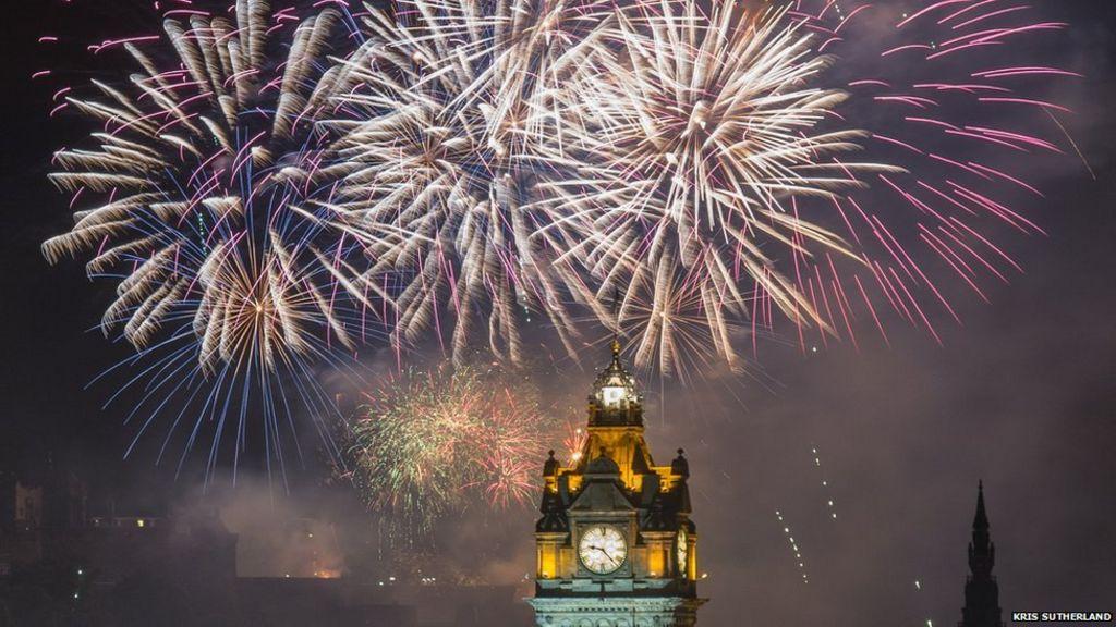 in pictures  edinburgh international festival fireworks