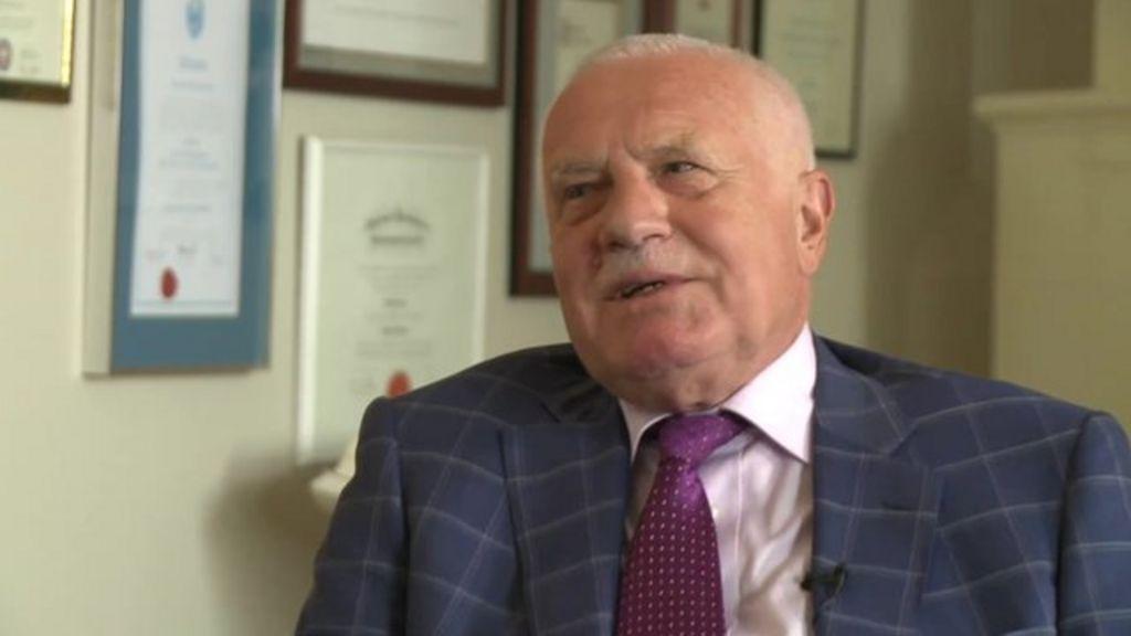 Vaclav Klaus Mladsi News: Former Czech Leader Vaclav Klaus On Dividing A Country