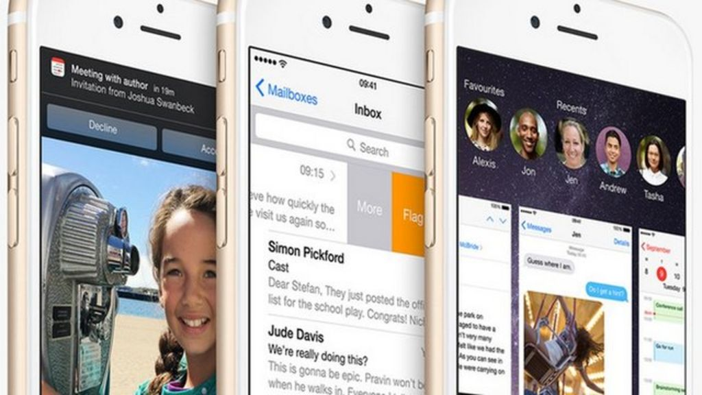 Bbc News Update: Users Frustrated By Apple IOS Update