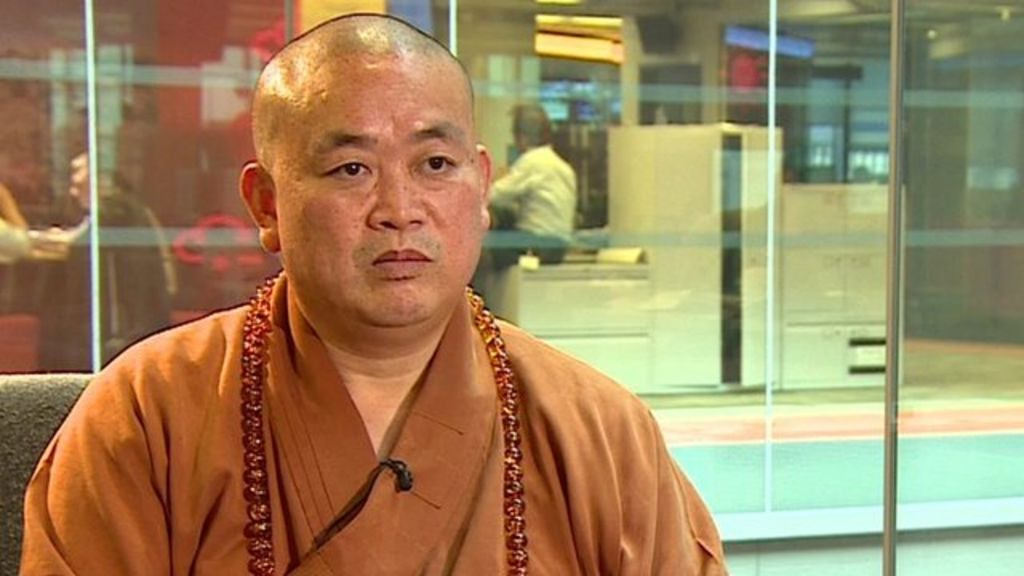 Controversial head of Shaolin Temple on 'concerns' - BBC News