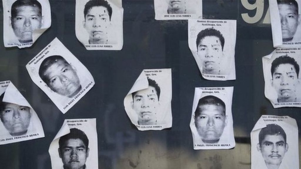 Missing Mexican students 'not found in mass grave' - BBC News
