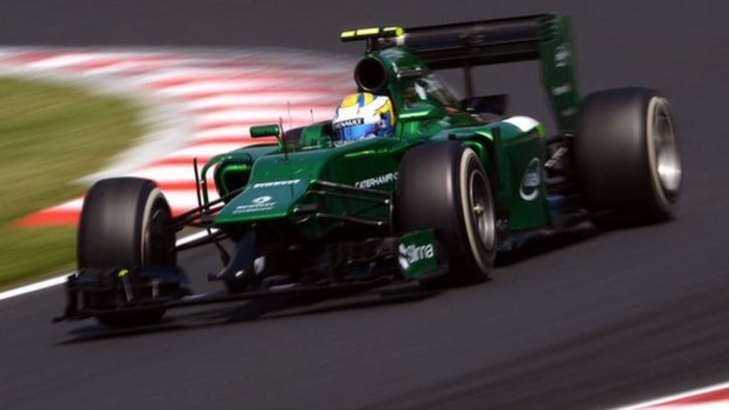Caterham F1 staff locked out of Oxfordshire site - BBC News