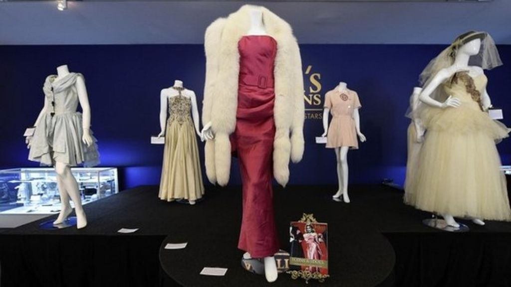 Madonna's clothes sell for millions at celebrity auction - BBC News