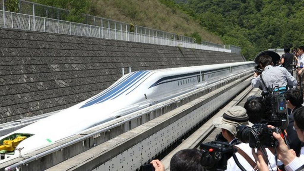 Japan Train Fans Experience Super Fast Maglev Speed Bbc