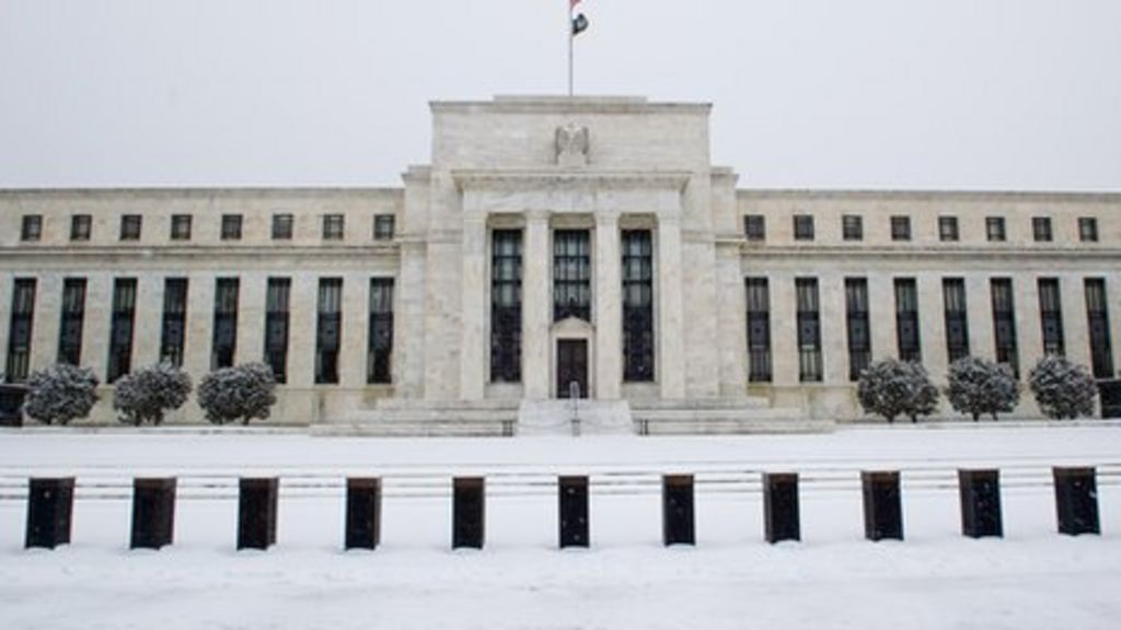Federal Reserve rate rise before April 'unlikely' - BBC News