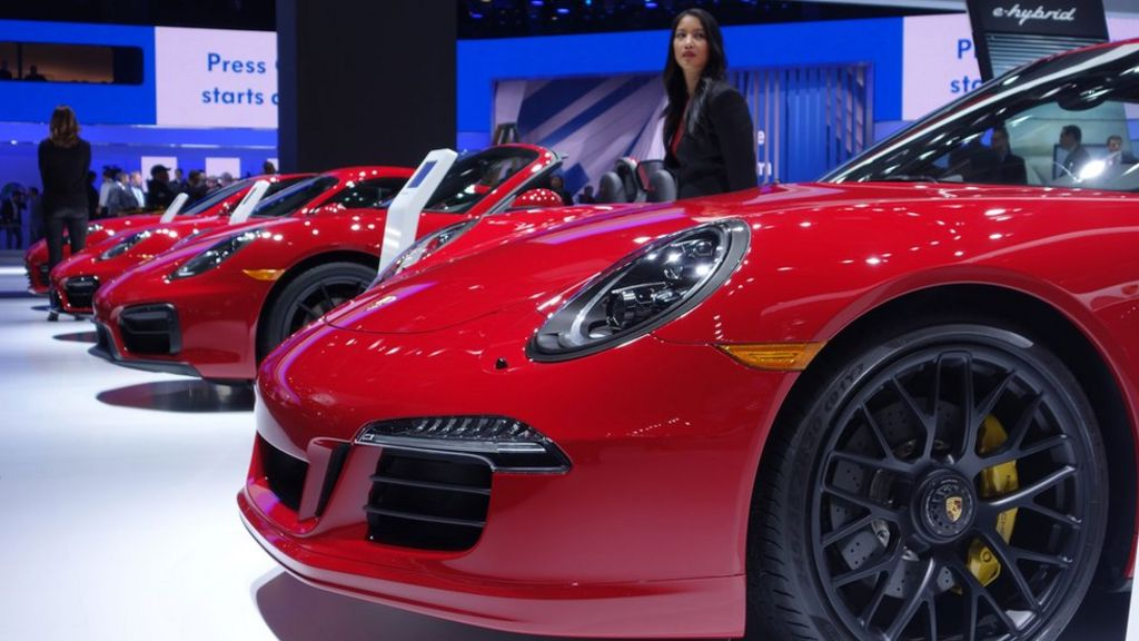 Detroit Motor Show 2015: In pictures - BBC News