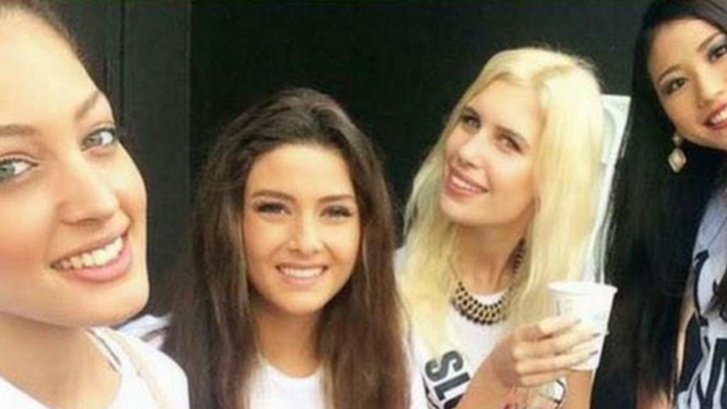 Miss Universe spat: the beauty queen selfie that turned ugly - BBC ...