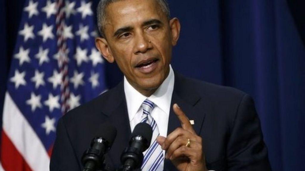 Barack Obama says US 'at war with those perverting Islam' - BBC ...