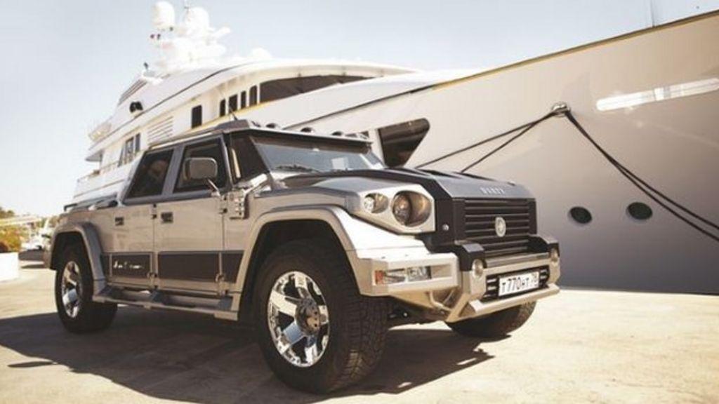 Million dollar motor: When an ordinary car is not enough - BBC News