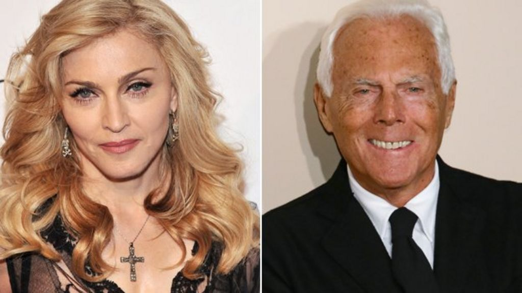 Armani labels Madonna 'difficult' after Brits fall - BBC News