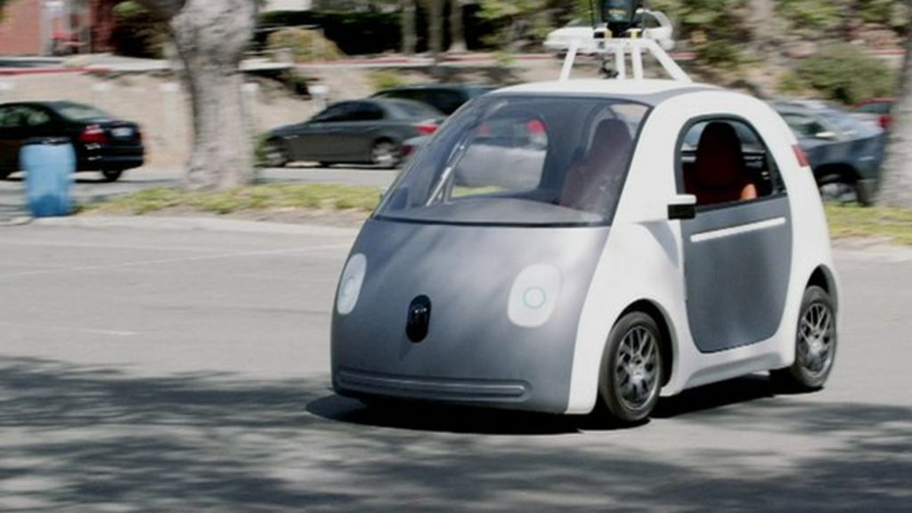 TED 2015: Google boss wants self-drive cars 'for son' - BBC News