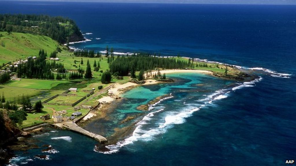 Tasmania Islands New Caledonia