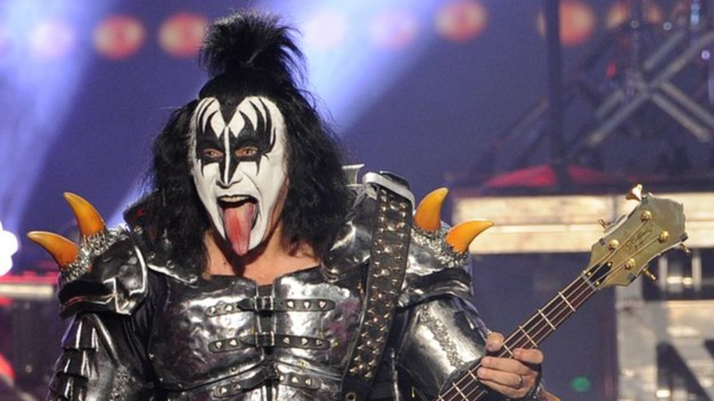 Gene Simmons from Kiss: 'I live to make more money' - BBC News