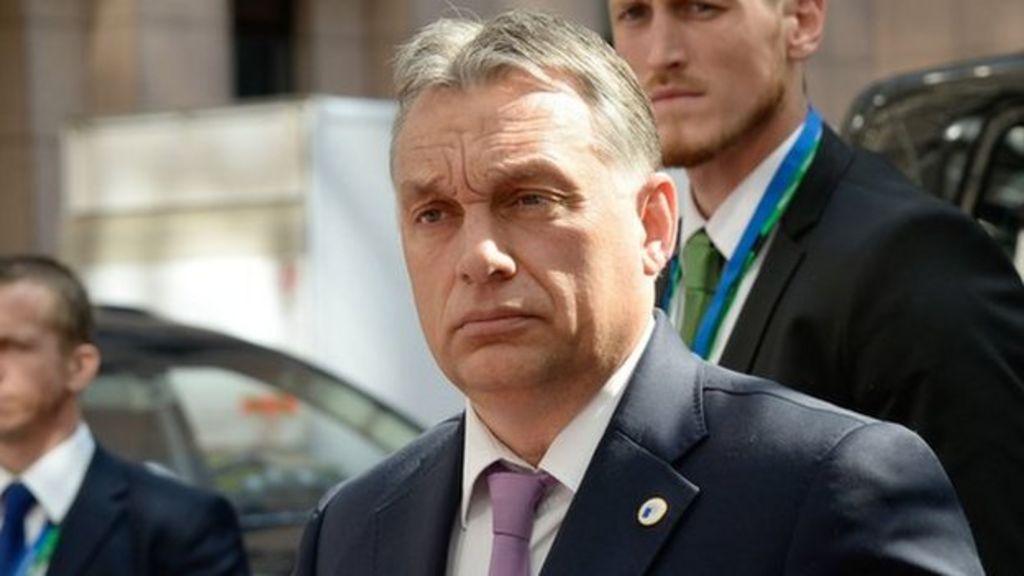 Hungary PM calls for death penalty debate with EU - BBC News