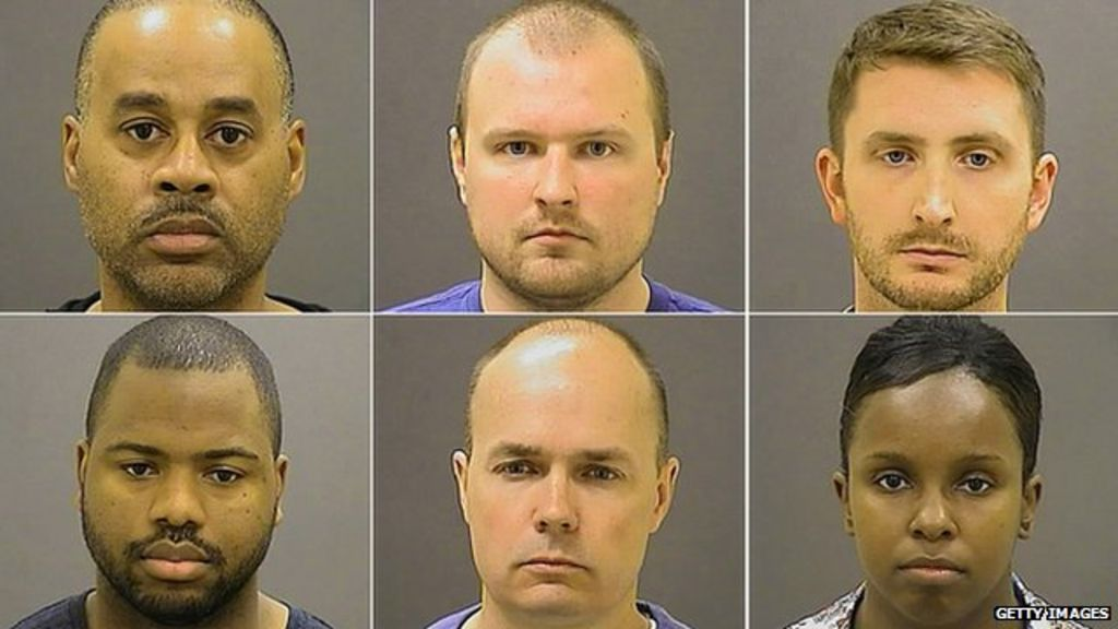 Baltimore Freddy Gray case: Six officers charged - BBC News