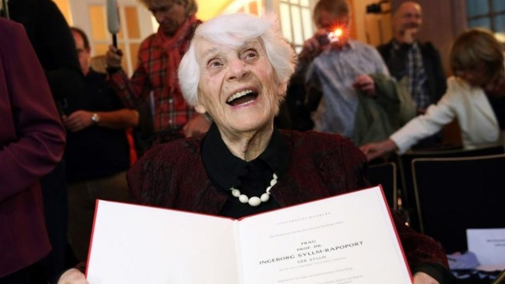 Germany's oldest student, 102, gets PhD denied by Nazis