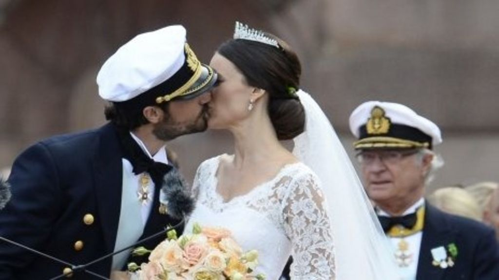 Sweden royal wedding: Prince Carl Philip marries ex- reality star ...