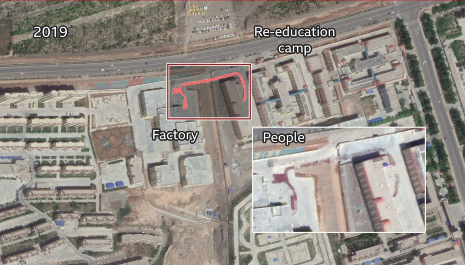 Open-source satellite image of Kuqa facility