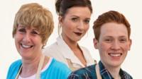 Jane, Candice and Andrew