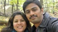 सुनयना दुमाला और श्रीनिवास कुचीवोतला