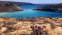 Lampedusa scenery