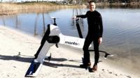 Manta5 hydrofoil bicycle