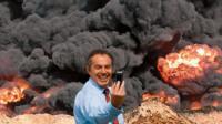 Tony Blair selfie