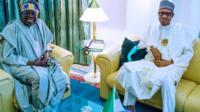 Bola Tinubu & Buhari