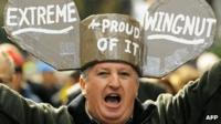 Anti-climate tax protestor