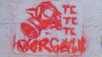 Graffiti in Gezi Park - 'So, spray us'