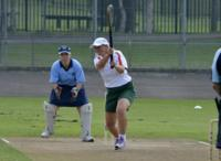 how to hit tennis ball harder in cricket
