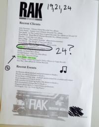 Rak studios