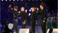 Take That at the Olympics
