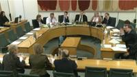 committee taking evidence