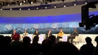 Talking Business debate at Davos