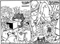 RK Laxman Voter cartoon