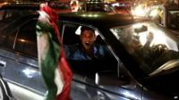 Celebrations in Tehran